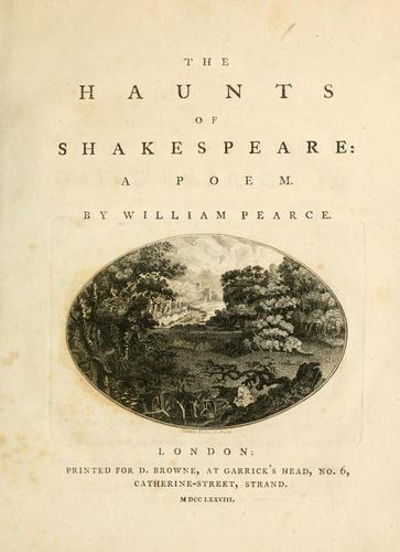 Download The haunts of Shakespeare