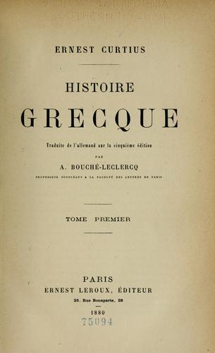 Download Histoire grecque