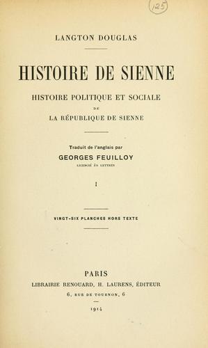 Download Histoire de Sienne
