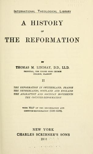 Download A history of the Reformation