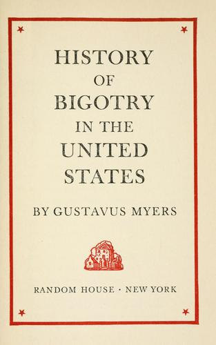 Download History of bigotry in the United States