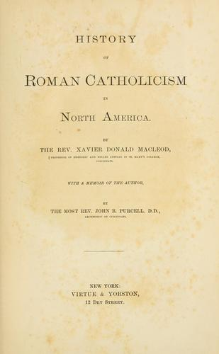Download History of Roman Catholicism in North America