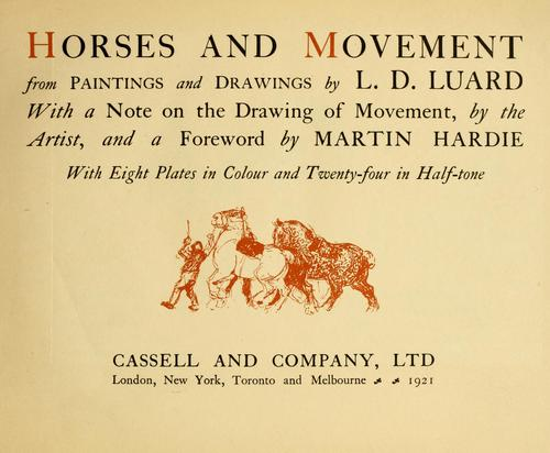 Download Horses and movement