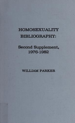 Download Homosexuality bibliography