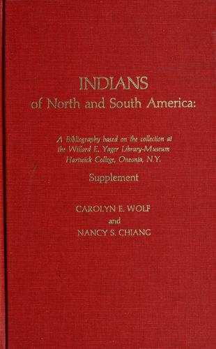 Download Indians of North and South America