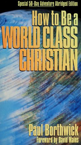 Download How to be a world-class Christian