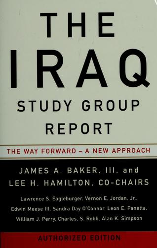 Download The Iraq Study Group report