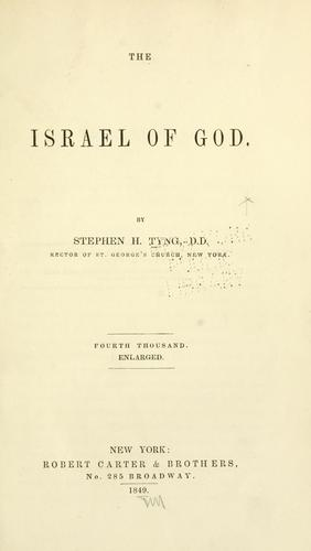 The Israel of God.
