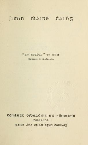 Jimín Mháire Thaidhg