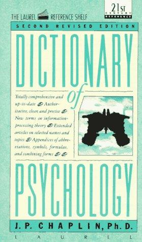 Download Dictionary of psychology