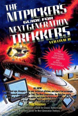 The nitpicker's guide for Next generation trekkers
