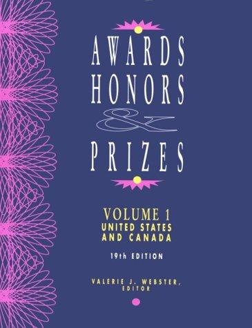 Awards, Honors and Prizes