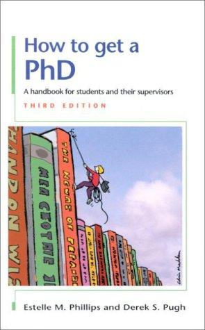 Download How to get a PhD