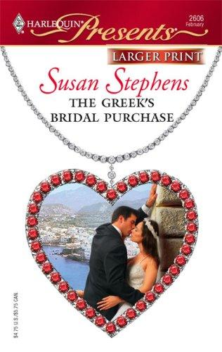 Download The Greek's Bridal Purchase (Larger Print Presents)