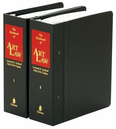 Download The deskbook of art law