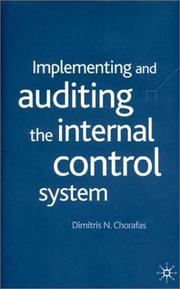 Implementing And Auditing The Internal Control System PDF Download