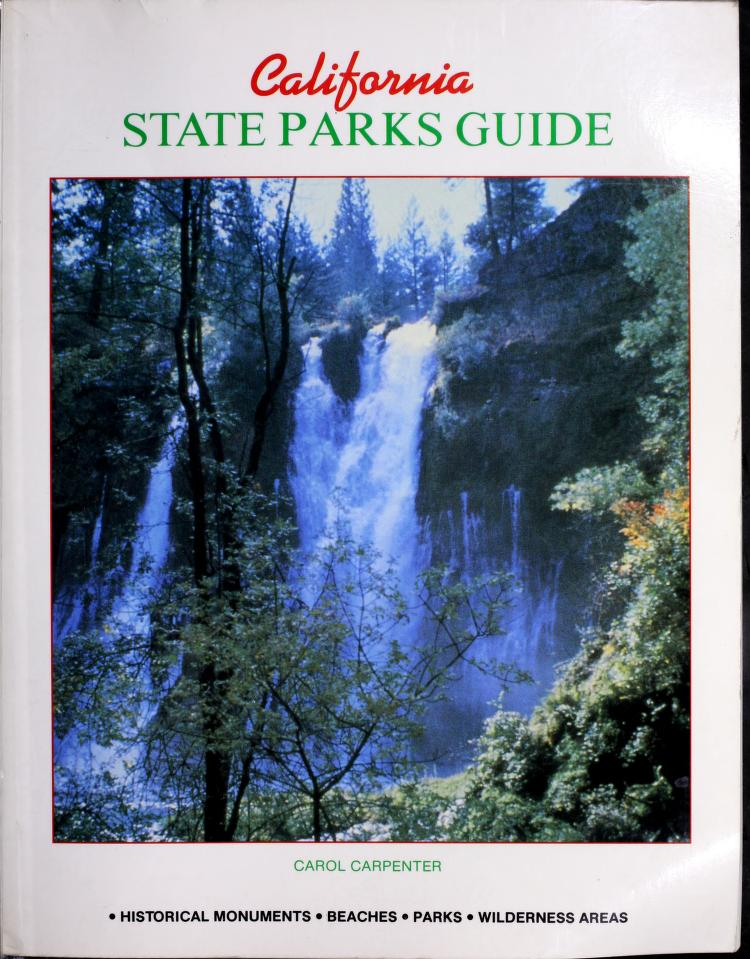 California state parks guide by Carol Carpenter
