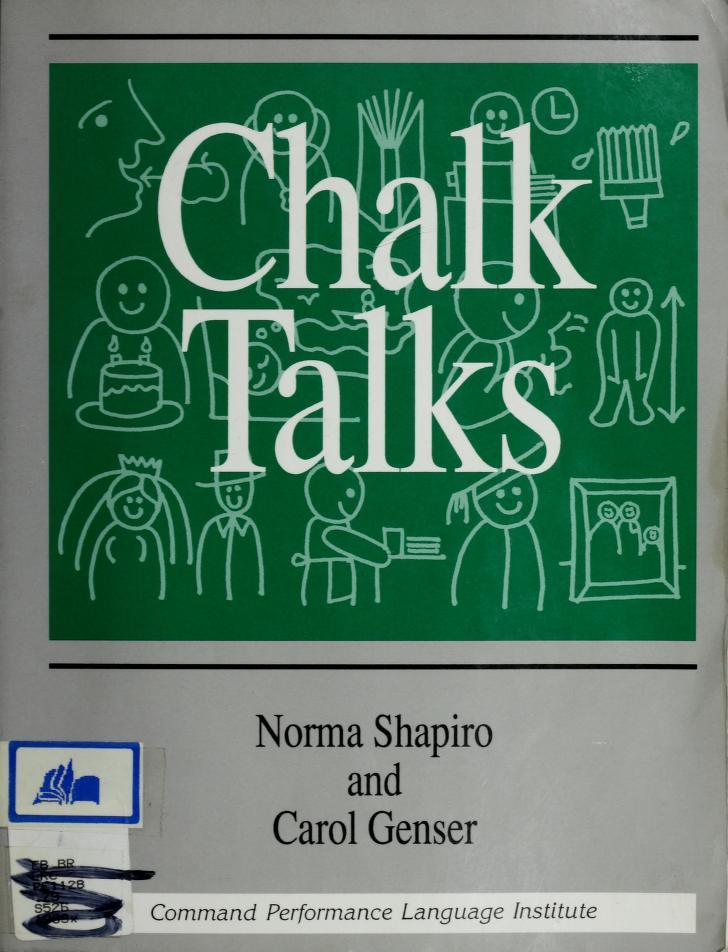 Chalk Talks by Norma Shapiro