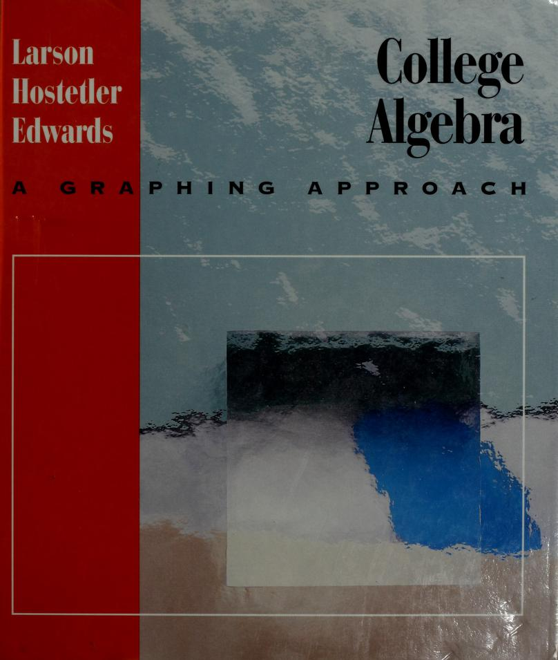 College algebra by Ron Larson