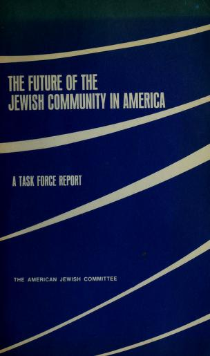 The Future of the Jewish community in America by David Sidorsky