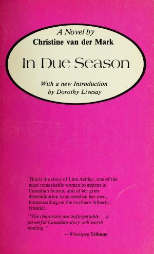 Cover of: In Due Season | Christine Van Der Mark
