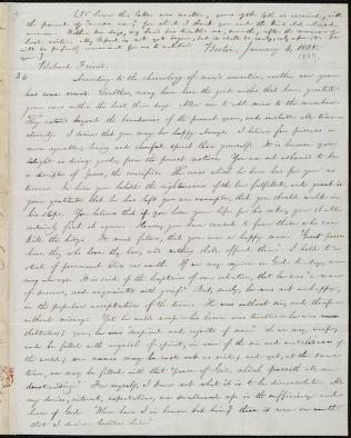 [Letter to] Beloved Friend by William Lloyd Garrison