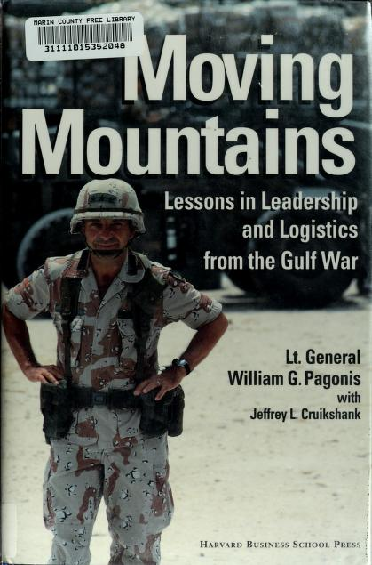 Moving mountains by William G. Pagonis