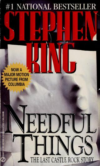 Cover of: Needful Things by Stephen King