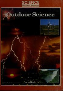 Cover of: Outdoor science | Anita Ganeri