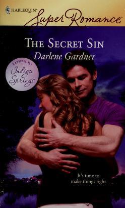 Cover of: The secret sin | Darlene Gardner