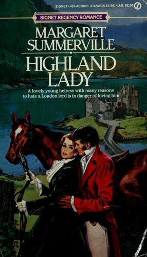 Highland Lady by Margaret Summerville