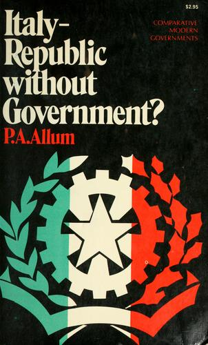 Italy–Republic without government?