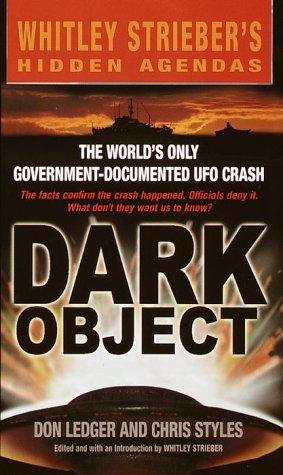 Dark object by Don Ledger