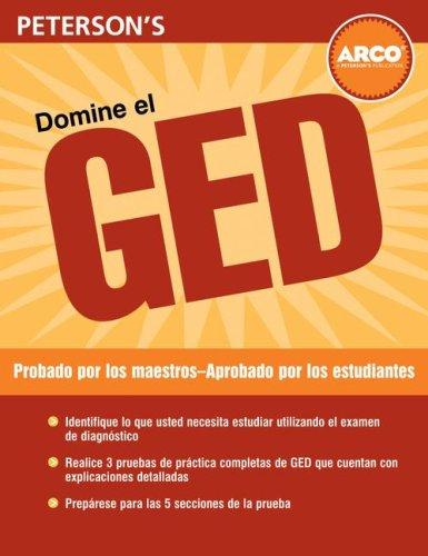 Domine el GED, 2nd Edition (Ged En Español) by Peterson's