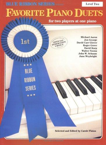 Favorite Piano Duets / Volume 1 - Level 2 by Carole Flatau