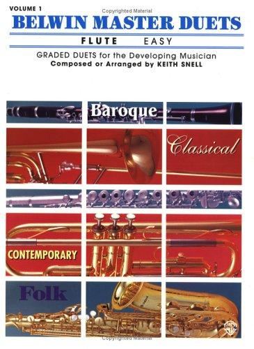 Belwin Master Duets for Flute, Easy by Keith Snell