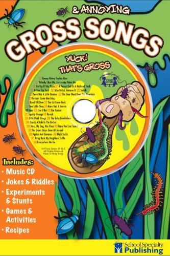 Gross & Annoying Songs Sing Along Activity Book with CD by Ken Carder