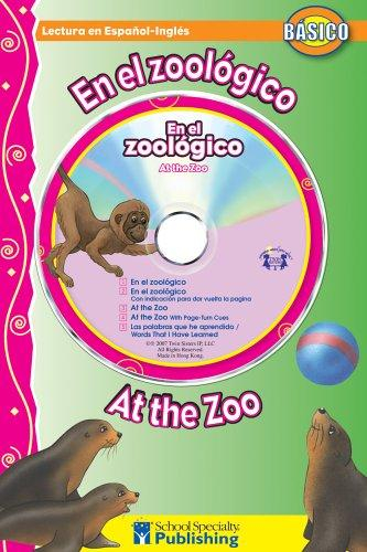 En el zoológico / At the Zoo Spanish-English Reader With CD (Dual Language Readers) by Kim Mitzo Thompson