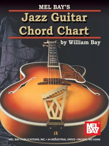 Mel Bay Jazz Guitar Chord Chart by William Bay