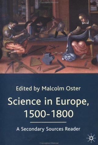 Science in Europe, 1500-1800
