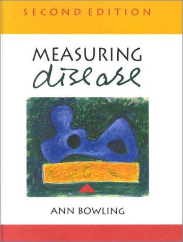 Measuring Disease