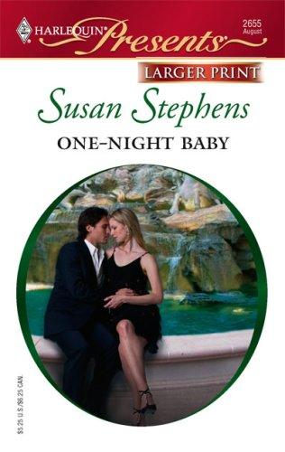 One-Night Baby (Harlequin Presents – Larger Print)