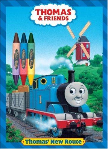 Thomas' New Route by Golden Books