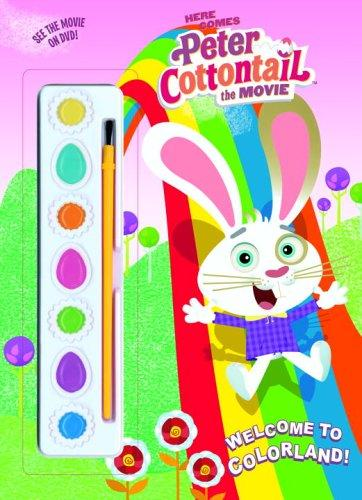 Welcome to Colorland! (Paint Box Book) by Golden Books