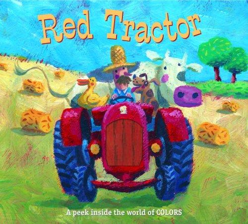 Red Tractor by Golden Books