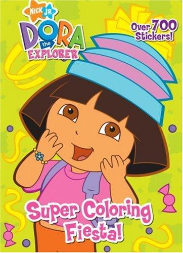 Super Coloring Fiesta! by Golden Books