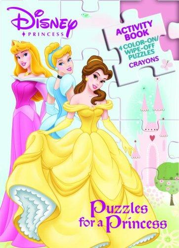 Puzzles for a Princess by Golden Books